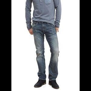 Banana Republic Straight Indigo Jeans 34X34